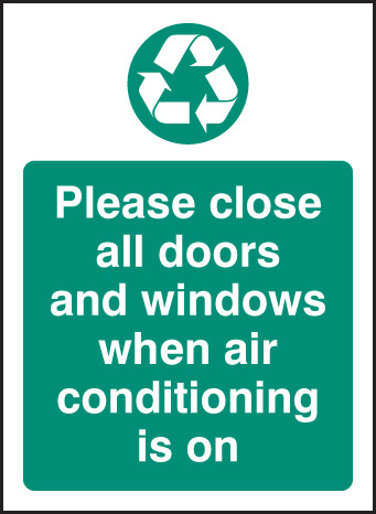 16629A Please turn off electrical appliances when not in use Rigid Plastic (100x75mm) Safety Sign