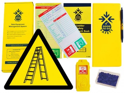51311 Good to go safety ladders weekly kit  (320x125x40mm) Safety Sign