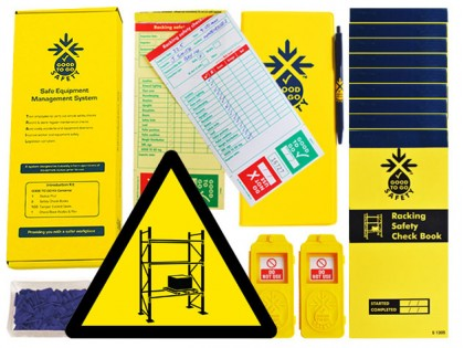 51316 Good to go safety racking daily kit  (250x125x80mm) Safety Sign