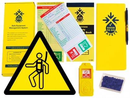 51326 Good to go safety harness weekly kit  (320x125x40mm) Safety Sign