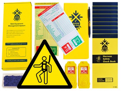51327 Good to go safety harness daily kit  (250x125x80mm) Safety Sign