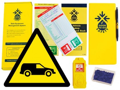 51328 Good to go fleet vehicle safety weekly kit  (320x125x40mm) Safety Sign