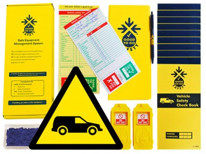 51329 Good to go fleet vehicle safety daily kit  (250x125x80mm) Safety Sign