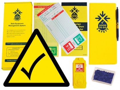 51333 Good to go blank safety weekly kit  (320x125x40mm) Safety Sign