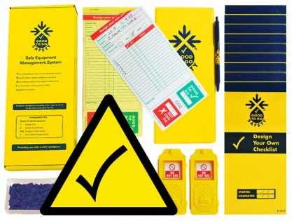 51334 Good to go blank safety daily kit  (250x125x80mm) Safety Sign