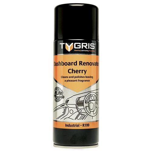 R199 Dashboard Renovator - Cherry - Size 400 ml / Sold in packs of 12