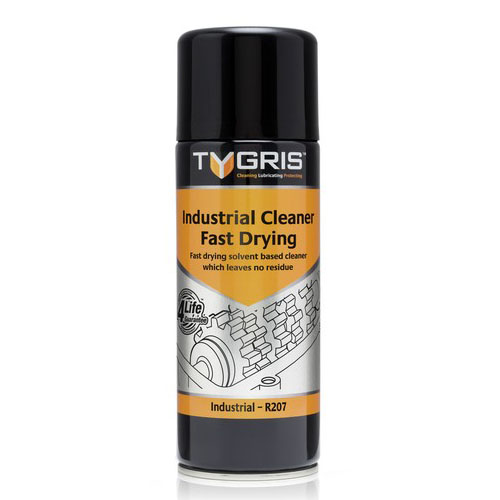 R207 Industrial Cleaner - Fast Drying - Size 400 ml / Sold in packs of 12