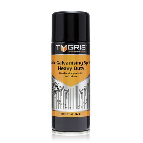 R239 Heavy Duty Zinc Galve Spray - Size 400 ml / Sold in packs of 12