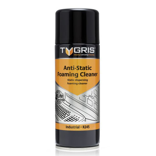 R245 Anti-Static Foaming Cleaner - Size 400 ml / Sold in packs of 12