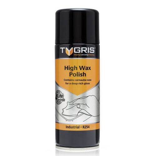 R254 High Wax Polish - Size 400 ml / Sold in packs of 12