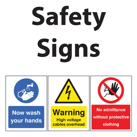 View Safety Signs